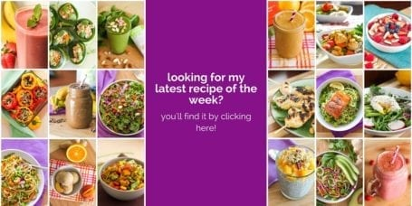 Find my latest clean healthy recipe of the week here!