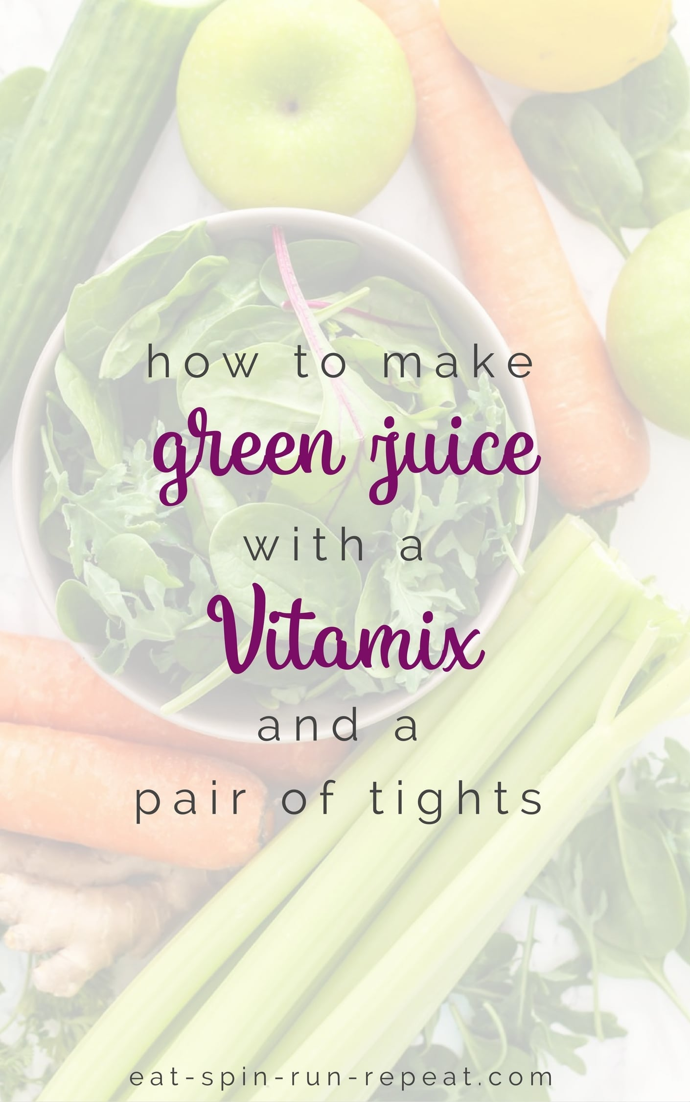 How to make green juice with a vitamix and a pair of tights forumfinder Images