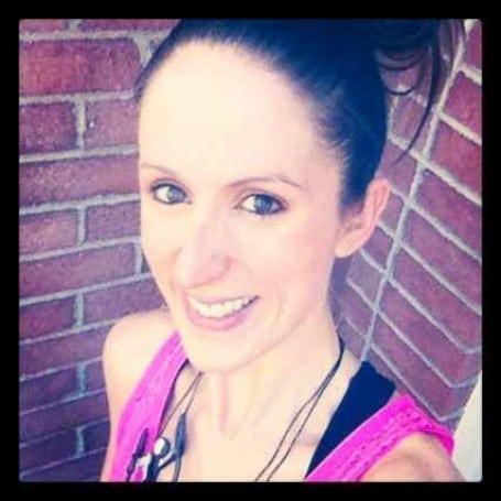 Me, post-run