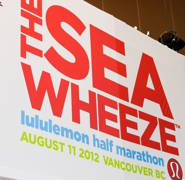 Lululemon SeaWheeze sign
