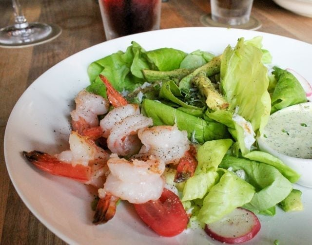 Earls - Crab and Shrimp Salad