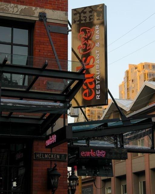 Earls, Yaletown Vancouver