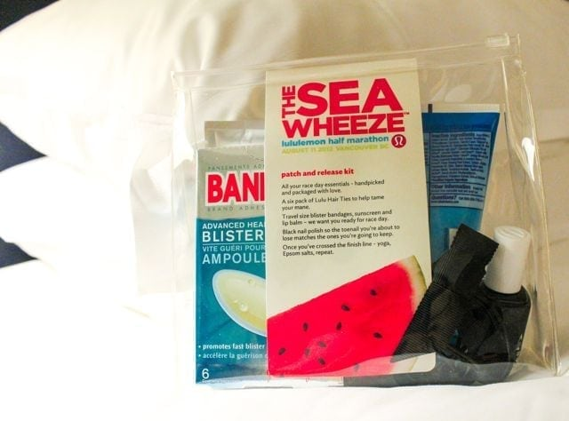 SeaWheeze pre-race packages