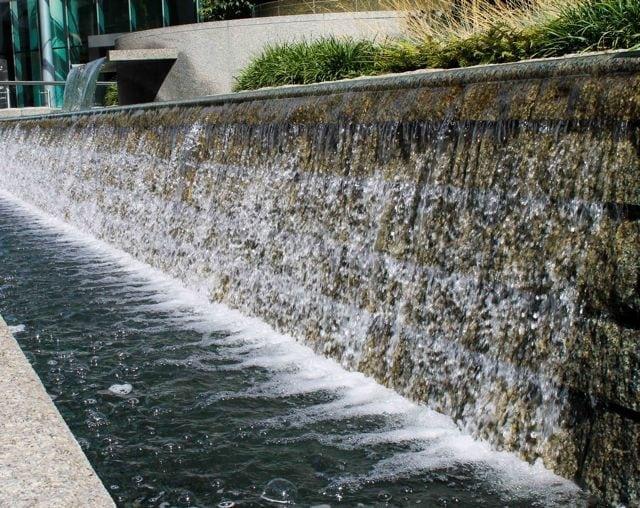 waterfall downtown