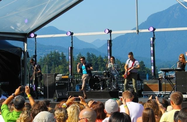 fun in concert at SeaWheeze