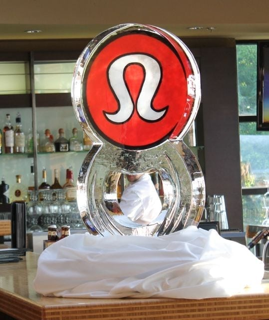 Lululemon Ice Sculpture