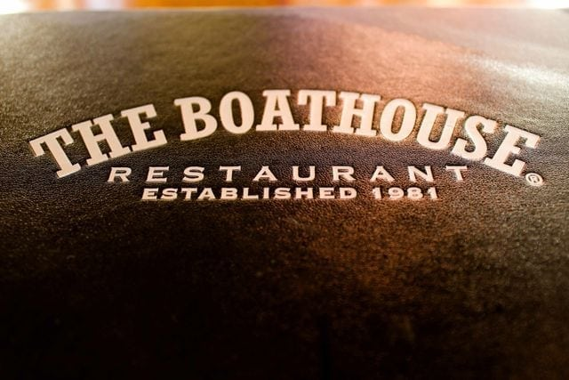 Boathouse Menu