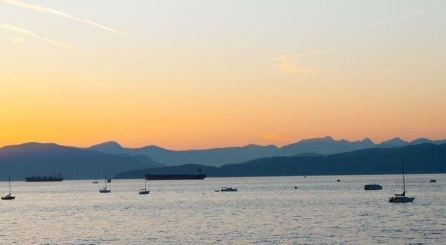 Sunset in Kitsilano