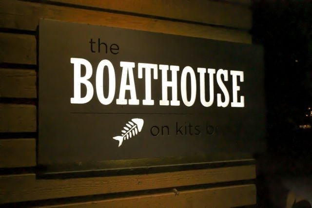 The Boathouse, Kitsilano