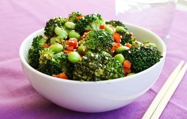 Sesame Broccoli and Edamame 2