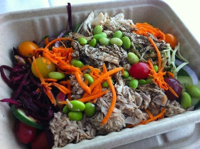 Whole Foods lunch in takeaway container