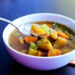 Cozy Winter Squash and Turkey Soup | paleo, Whole30, gluten-free | My Fresh Perspective | #paleo #glutenfree #whole30