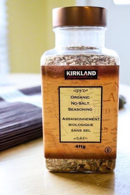 Kirkland Organic No-Salt Seasoning