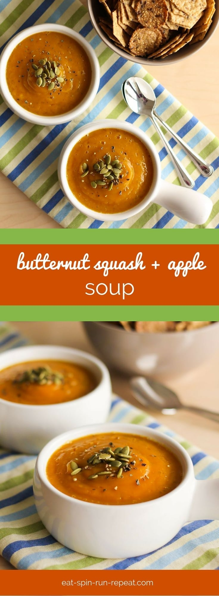Velvet Butternut Squash and Apple Soup - This soup is the answer to ...