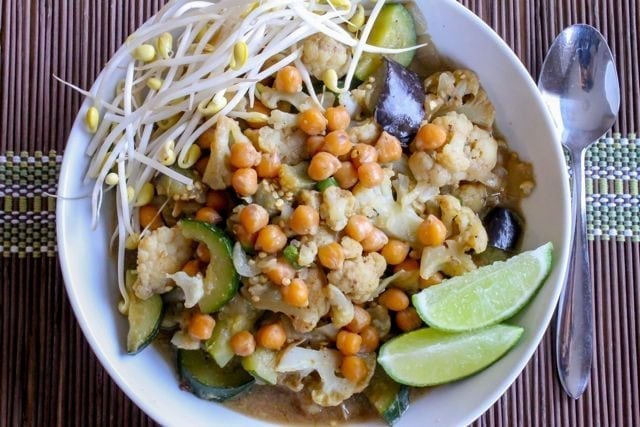 Thai Green Curry with Chickpeas - 2