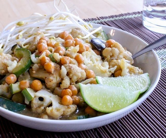 Thai Green Curry with Chickpeas - 3