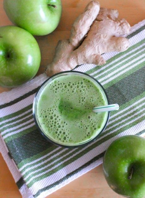 Lean Mean Green Apple Juice