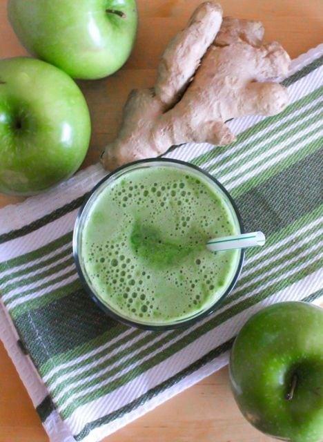 Lean Mean Green Apple Juice