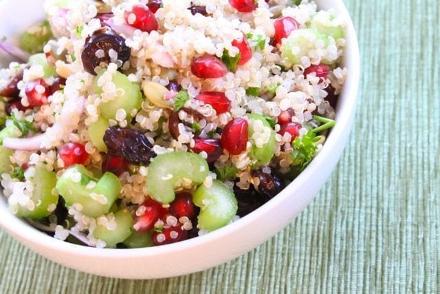 Ruby Studded Holiday Quinoa