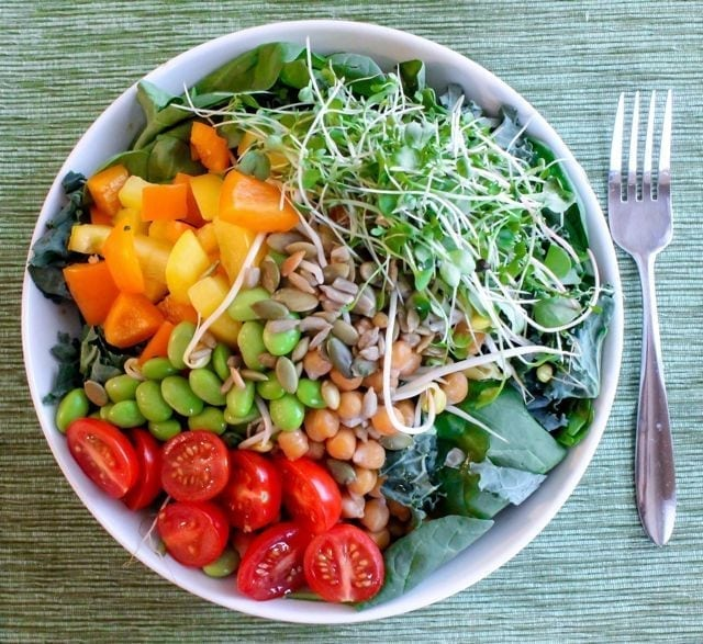 Sprout It Out Bowl from Eat Spin Run Repeat