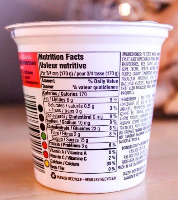 amande yogurt