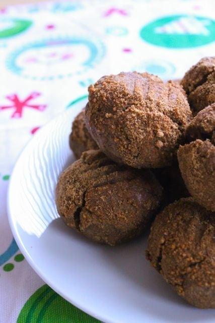 gluten free vegan gingersnaps