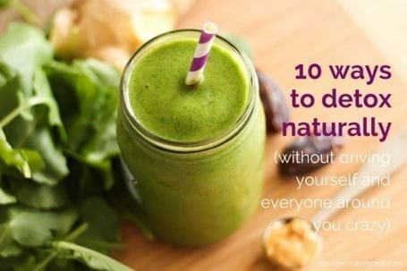 10 ways to detox naturally
