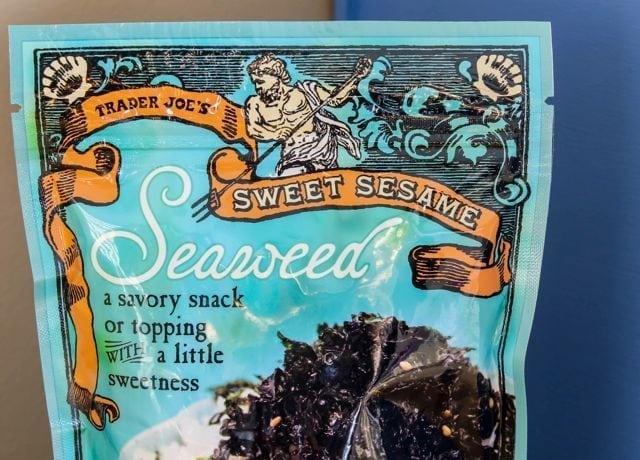 Trader Joe's Sweet Sesame Seaweed