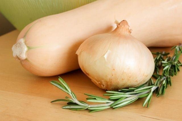 butternut squash onion thyme