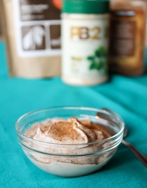 pb2 healthy yogurt dessert
