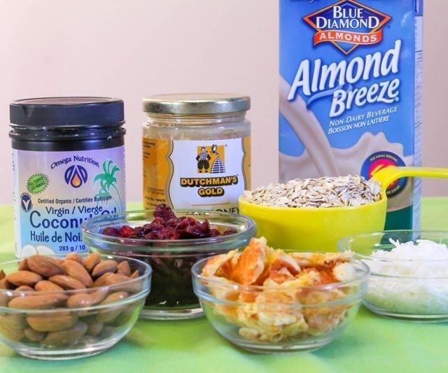 Beach Granola Ingredients - Eat Spin Run Repeat