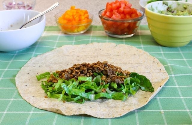 Vegan Fiesta Wraps