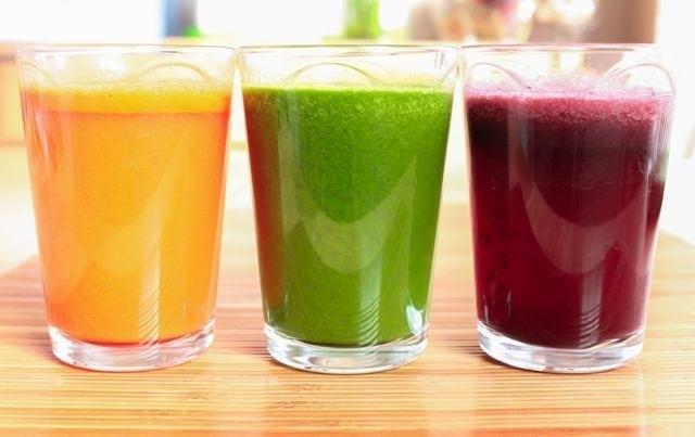 fresh veggie juices