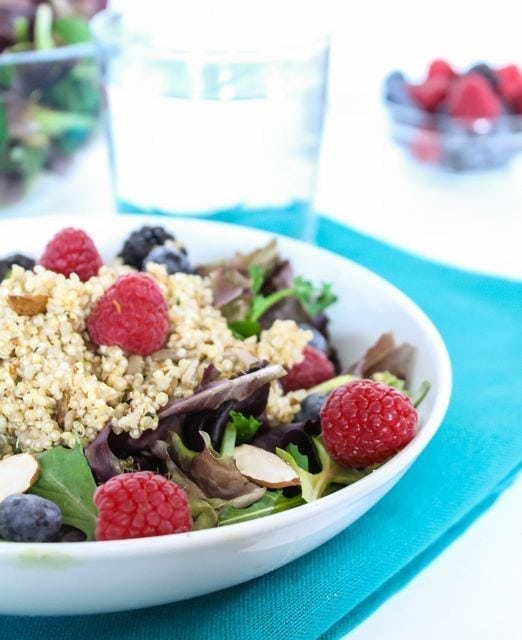 Super Berry Quinoa Salad