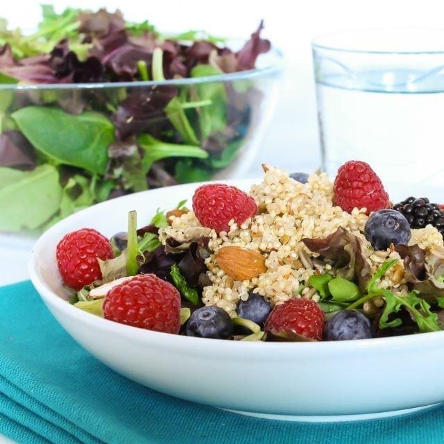 Super Berry Quinoa Salad