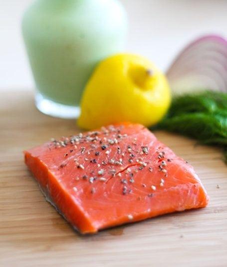 organic wild-caught sockeye salmon
