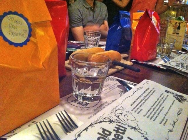 dinner at old spaghetti factory 1