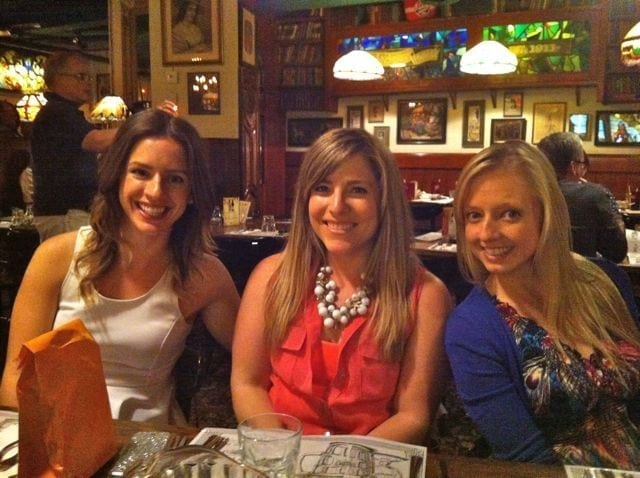 Danielle, Jess and Robyn
