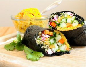 Big Fat Nori Wrap - Eat Spin Run Repeat