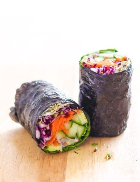 Big Fat Nori Wraps - Eat Spin Run Repeat