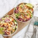 Coconut Lime Quinoa Salad || anti-inflammatory, vegan, gluten-free || Eat Spin Run Repeat