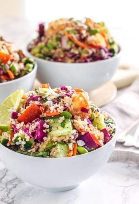 Coconut Lime Quinoa Salad    anti-inflammatory, vegan, gluten-free    Eat Spin Run Repeat