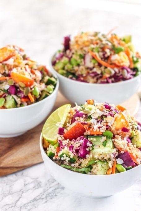 Vegan Coconut Lime Quinoa Salad    anti-inflammatory, vegan, gluten-free    My Fresh Perspective
