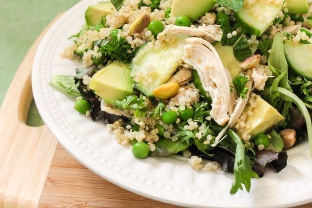 Spring Chicken Salad - Eat Spin Run Repeat