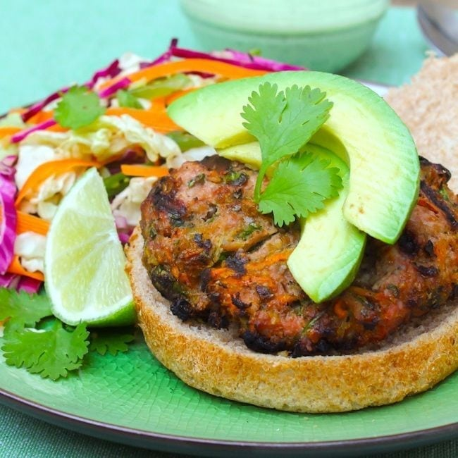 Thai Turkey Burger
