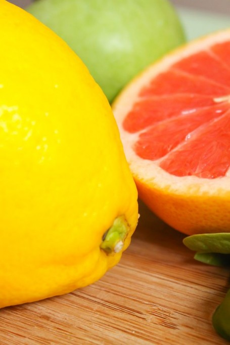 lemon and grapefruit