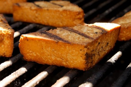 tofu on the bbq