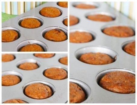 Eat Clean Carrot Cake Mini Muffins 1