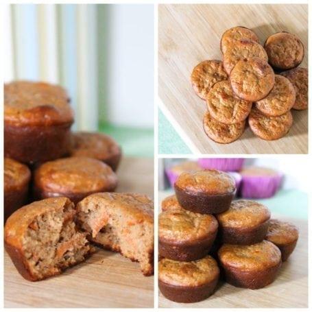 Eat Clean Carrot Cake Mini Muffins 2