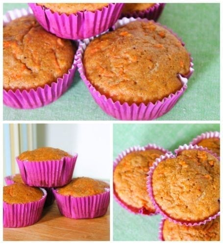 Eat Clean Carrot Cake Muffins